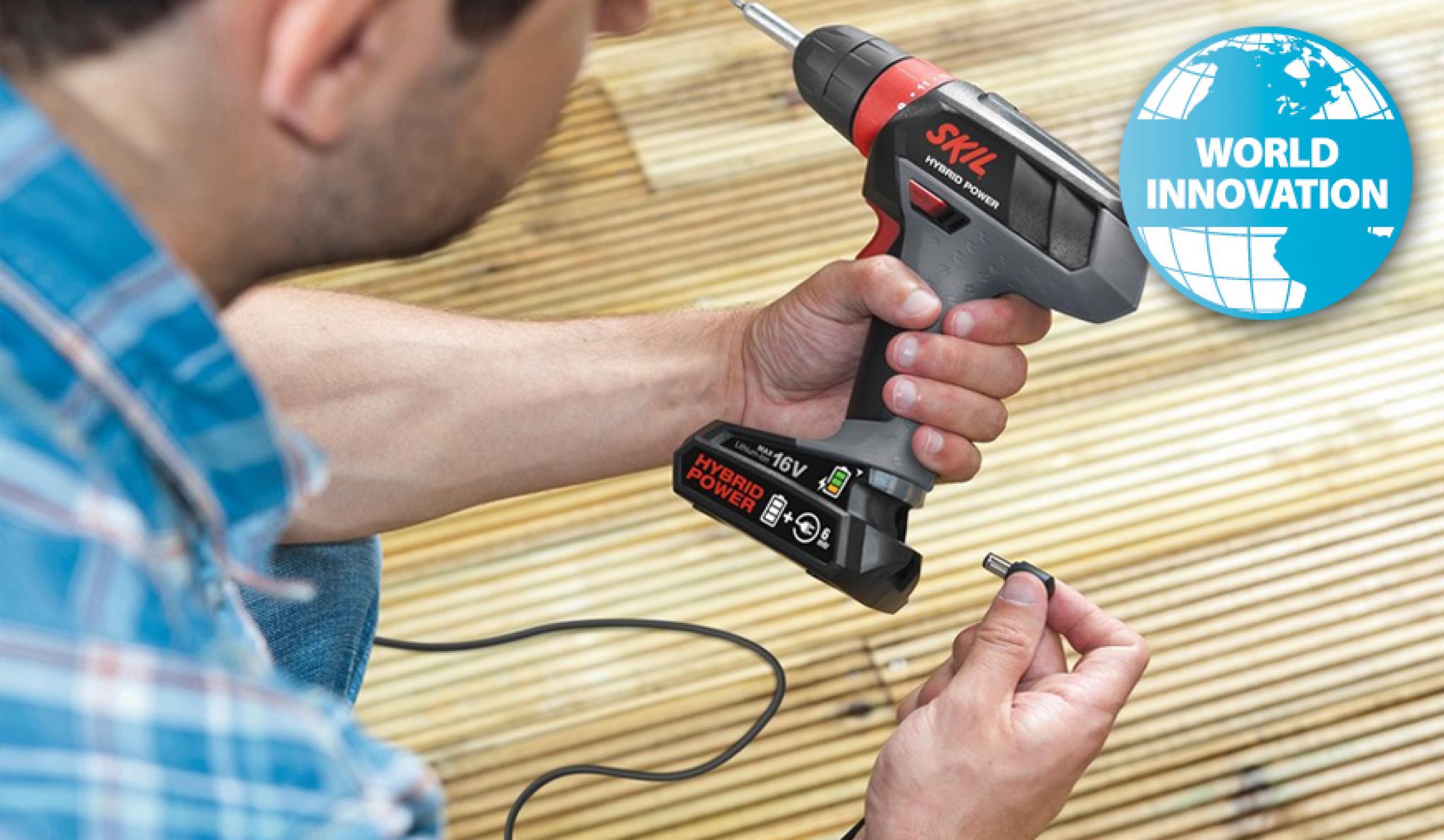 Skil 2461 taladro/atornillador a batería
