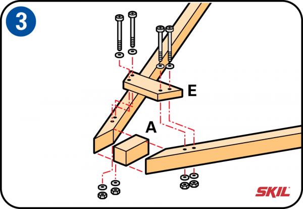 276b9ae50 Montar las estructuras de soporte laterales