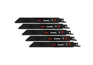 SKIL Juego de 5 hojas de sierra BIM para metal