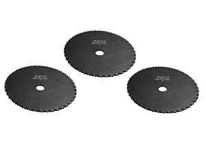 SKIL Juego de hojas de sierra de acero endurecido (3 unidades)