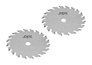 SKIL Juego de hojas de sierra de carburo (2 unidades)