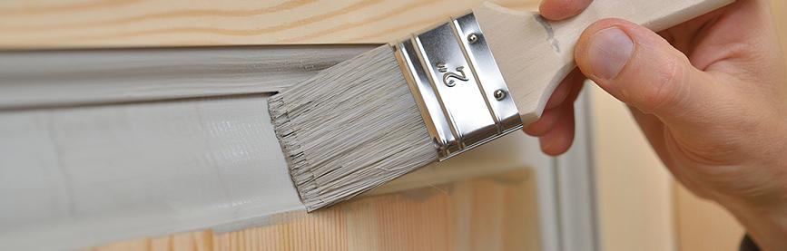 Pintar marcos de puertas y ventanas for Pintar marcos de puertas